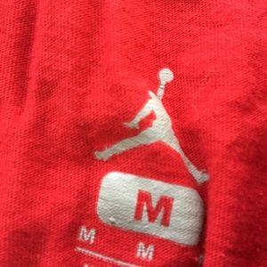 fab7253e2b27 Jordan Shirts - Jordan Brand Tee Shohoku Graphic T Shirt M Red